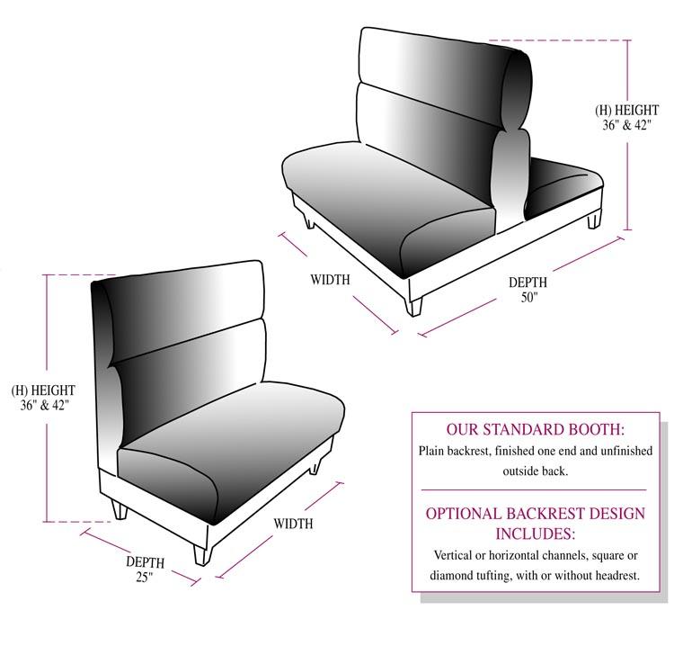U Shaped Booth Seating American Hwy
