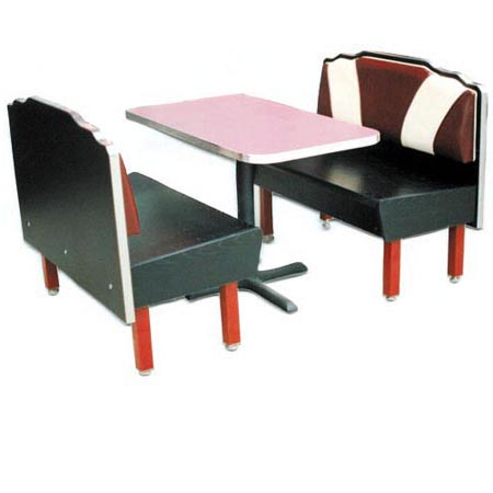 Retro Diner Restaurant Tables