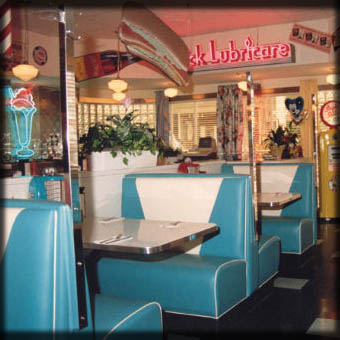 Diner Booths; Buffalo, New York